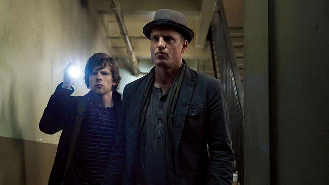 Harrelson (rechts) in de hitfilm Now You See Me