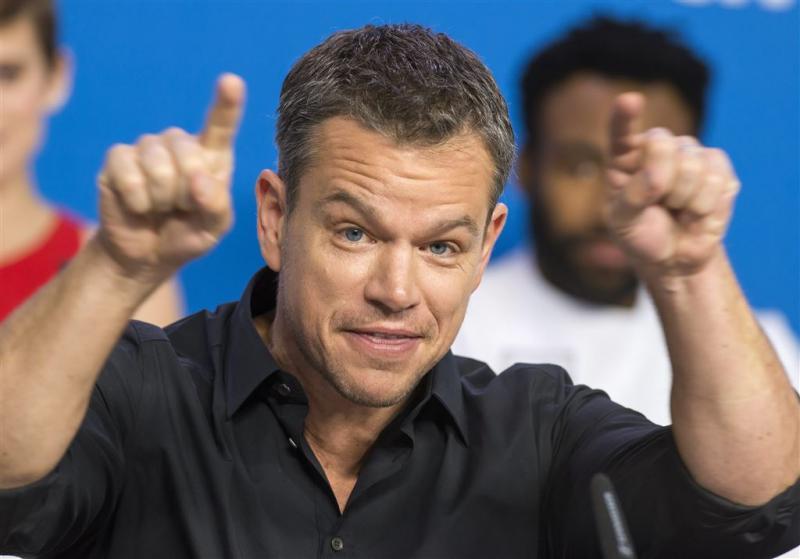 Matt Damon: sorry voor opmerking diversiteit