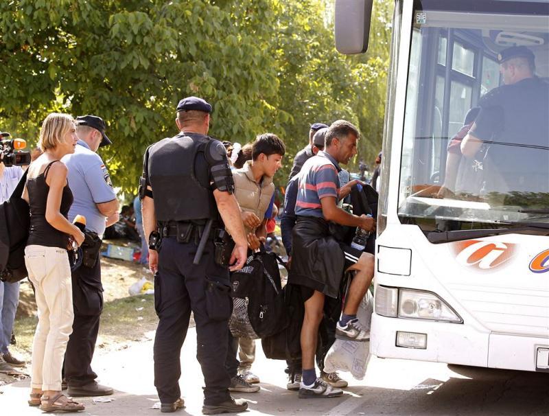 Kroatië en Hongarije ruzieën over migranten