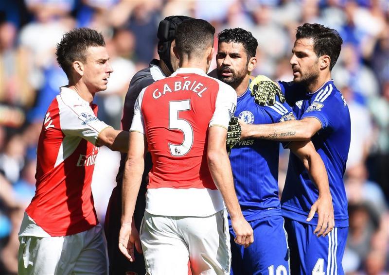 Chelsea wint van negental Arsenal