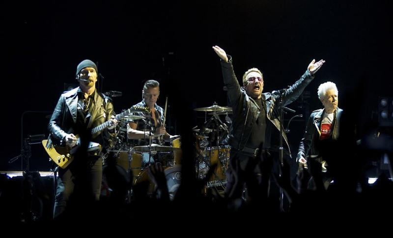 'Concert U2 afgelast door man met wapen'