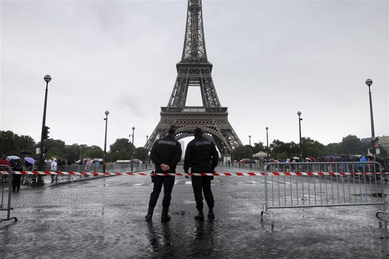 Eiffeltoren afgesloten