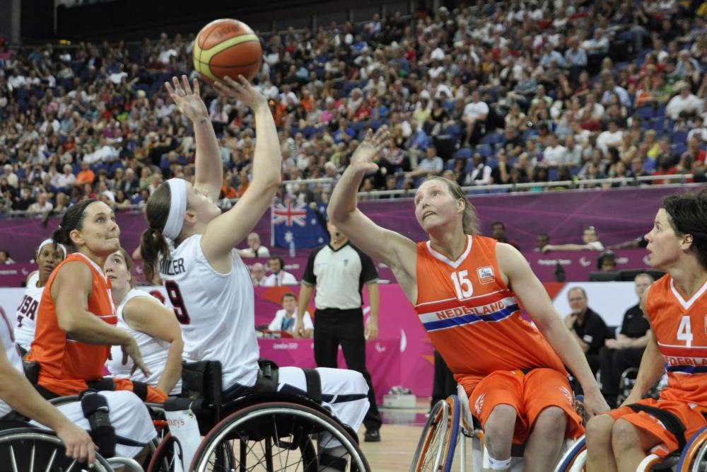 Mariska Beijer (15) speelde in 2012 ook al op de Paralympische Spelen, waar Nederland het brons veroverde (PRO SHOTS/Zuma Sports Wire)