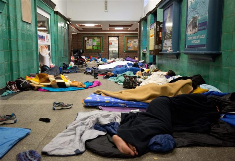 'Geen terroristen onder vluchtelingen'