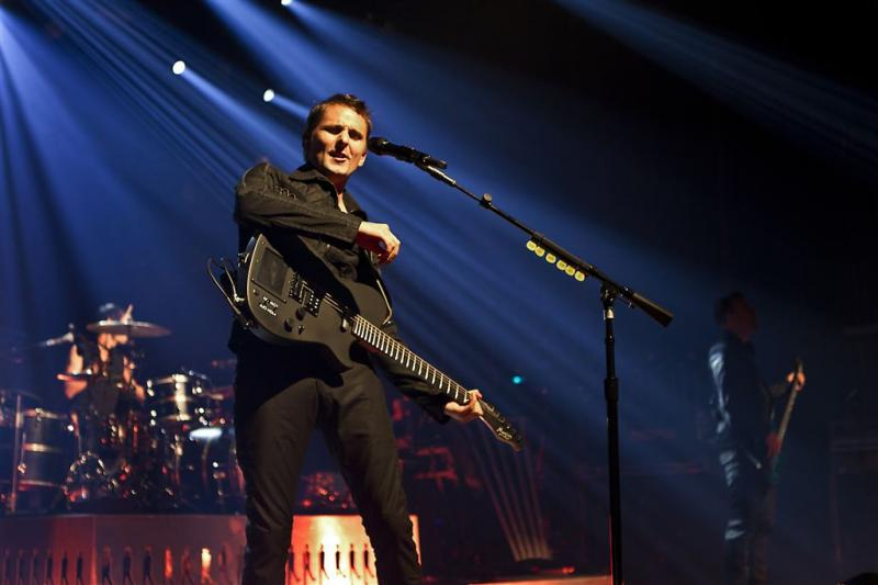 Muse geeft derde concert in Nederland