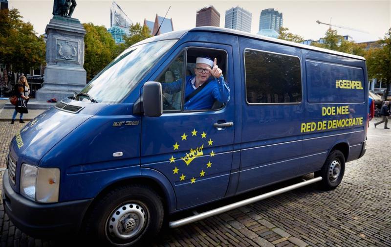 GeenPeil haalt grens voor referendum