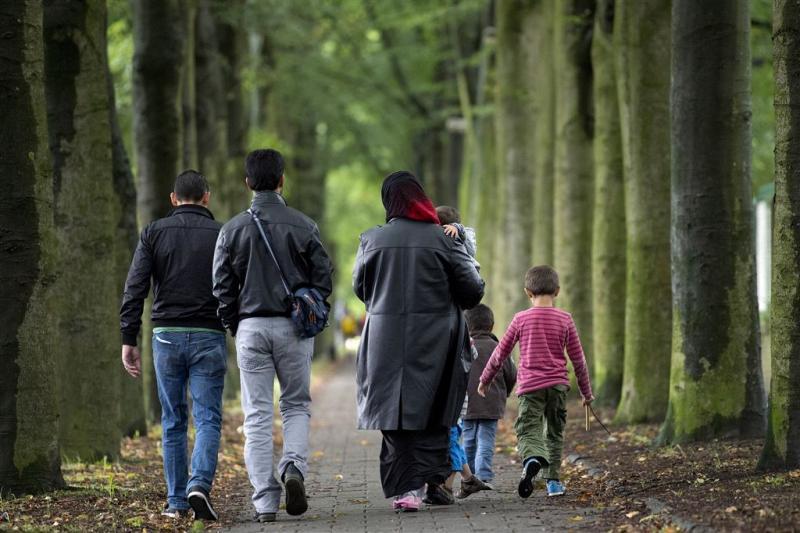 25.000 asielzoekers in Nederland aangekomen