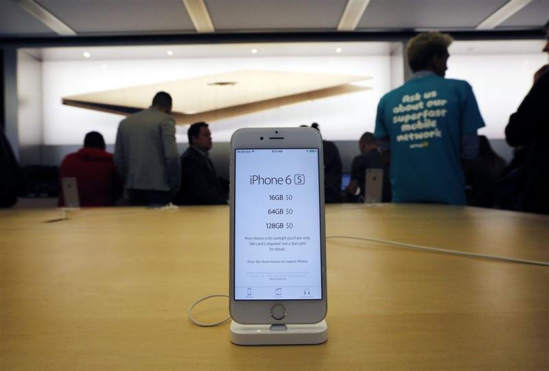 Apple meldt recordverkoop nieuwe iPhones