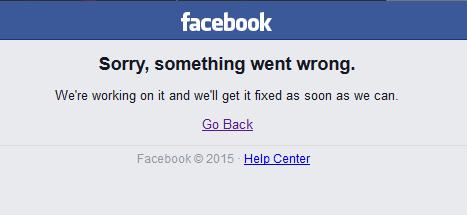 Facebook is dood, noeeeeeeeees!
