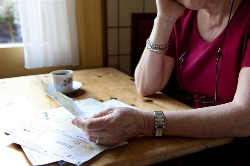 'Koopkracht ouderen extra onder druk'