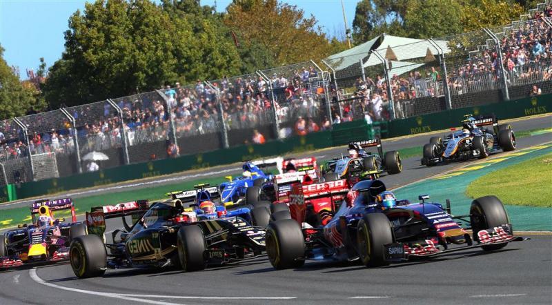 Formule 1 start twee weken eerder