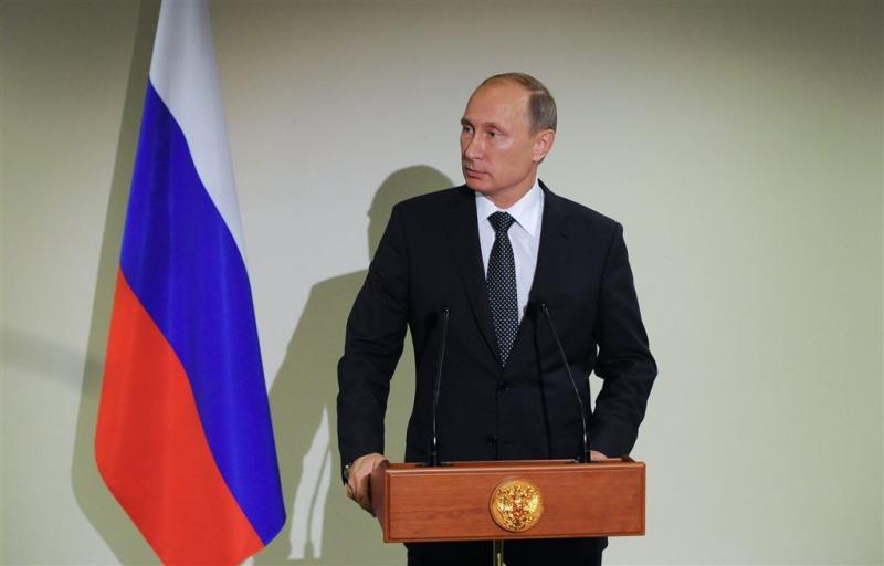 Rusland zet luchtmacht in boven Syrië