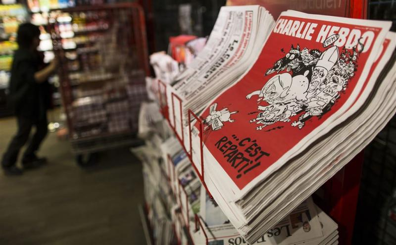 Charlie Hebdo verhuisd naar geheime locatie