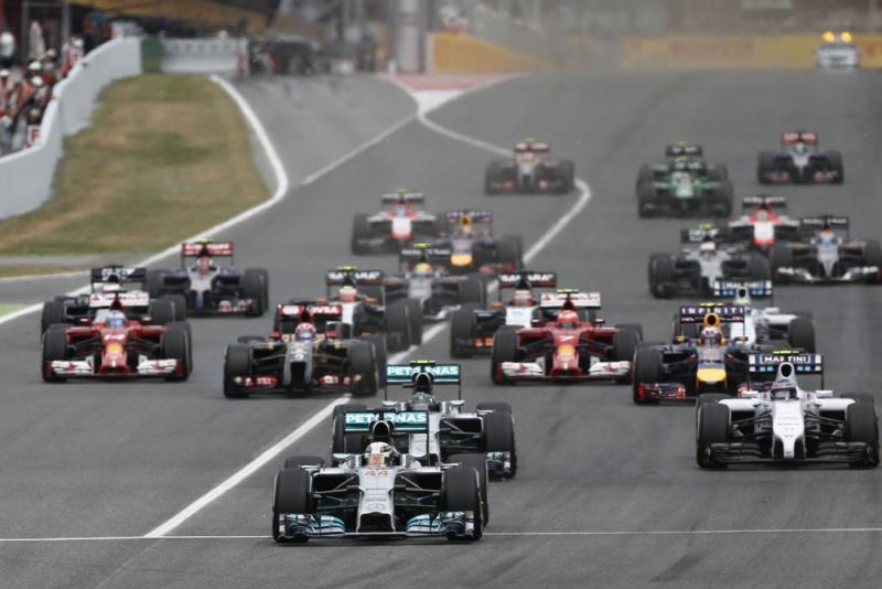 F1-coureurs die start onderbreken moeten voortaan vanuit pits starten (Pro Shots/Zuma Sports Wire)