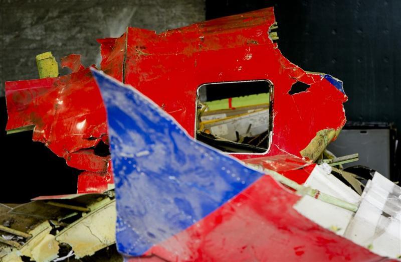 Reconstructie deel ramptoestel MH17