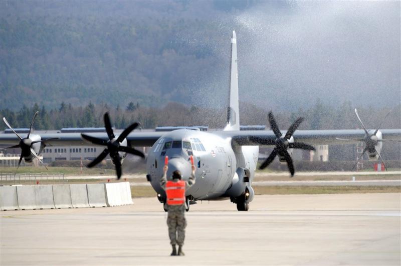 Transportvliegtuig VS gecrasht in Afghanistan