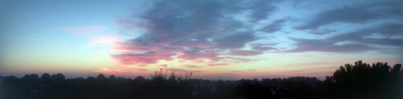 Zonsondergang in Alkmaar Daalmeer (Foto: DJMO)