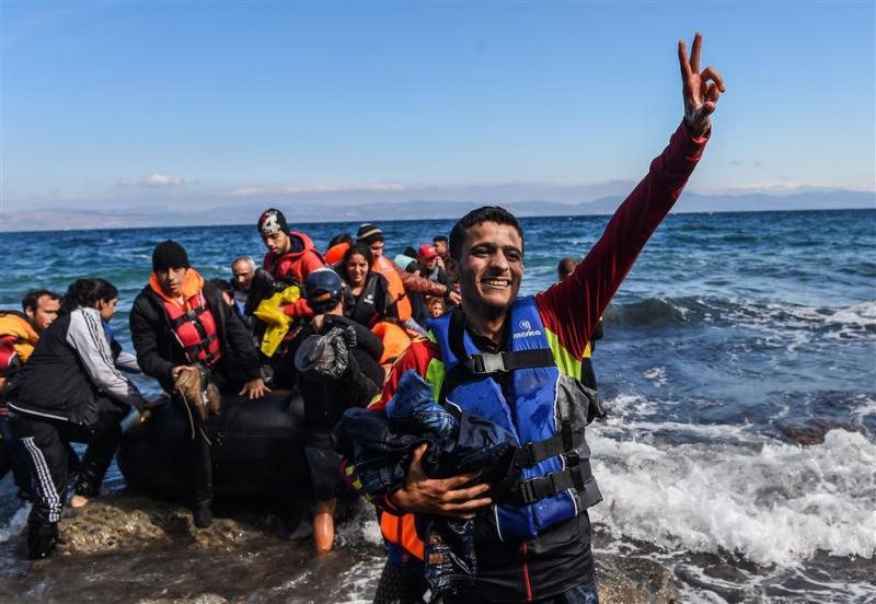 208.000 vluchtelingen via Lesbos naar EU