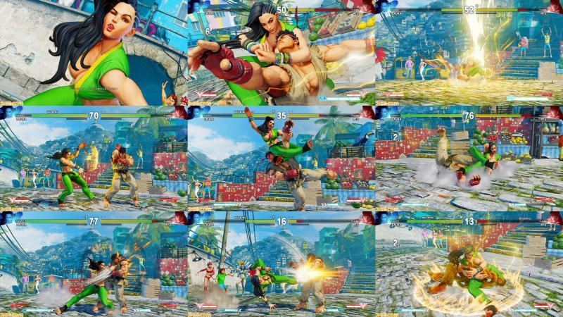 Laura in Street Fighter V