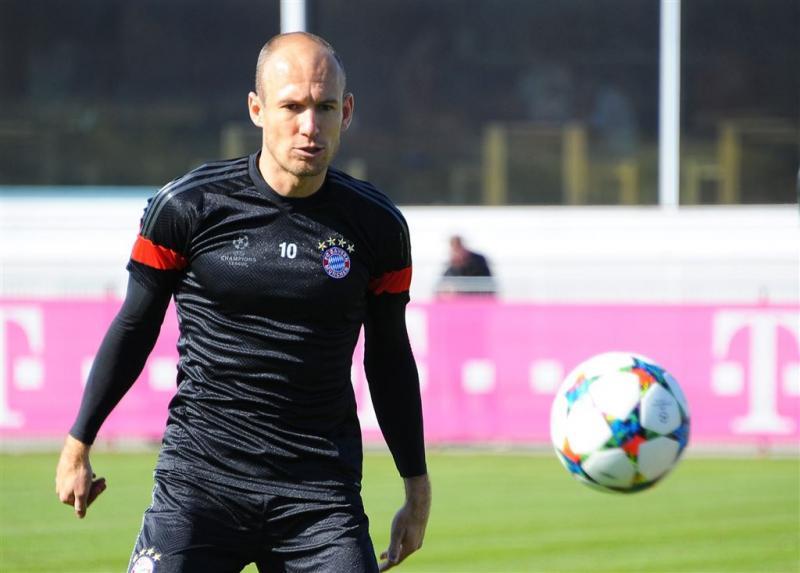 Robben vraagteken voor Duitse topper