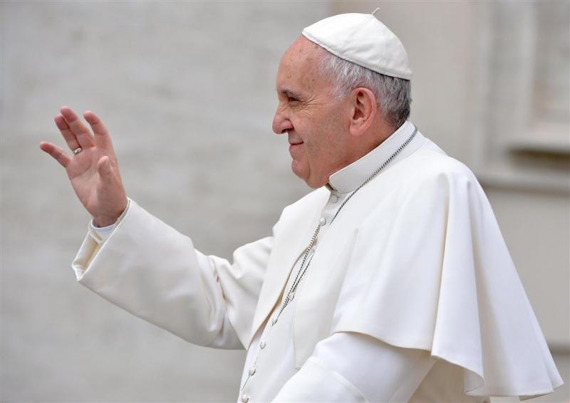 'Paus ontving homopaar'