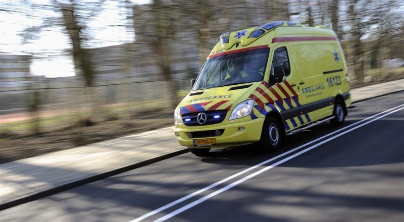 A30 dicht na ongeval met vrachtwagen