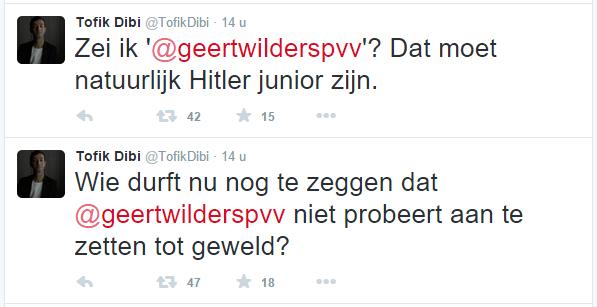 Wilders is Hitler junior
