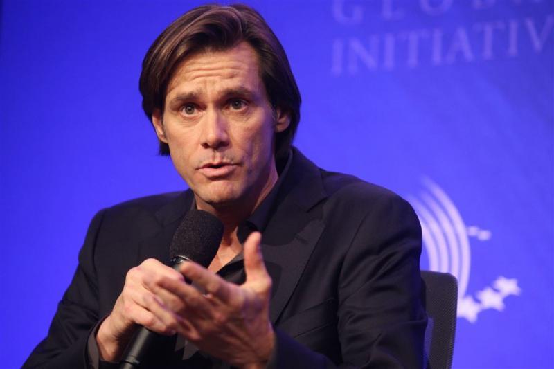 'Jim Carrey in Ierland voor begrafenis ex'
