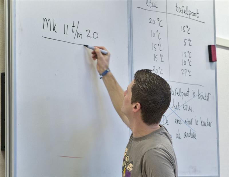 Leraren krijgen ook loonsverhoging