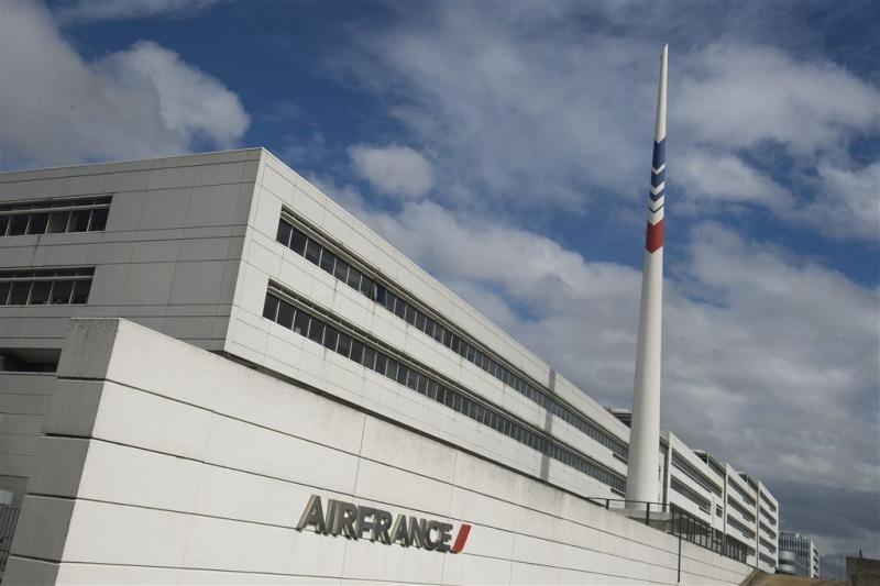 Werknemers Air France vast na mishandelen top