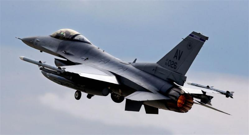 Amerikaanse luchtmacht dropt munitie