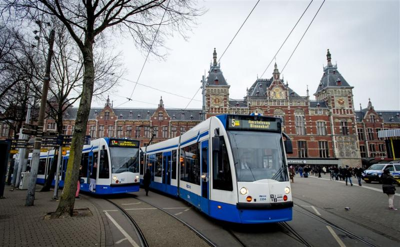 Staking in stadsvervoer Amsterdam en Utrecht