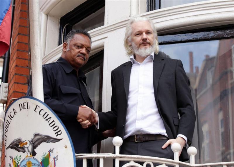 Politie Londen heft bewaking Assange op