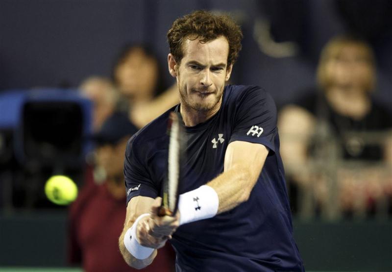 Murray verdringt Federer van tweede plaats