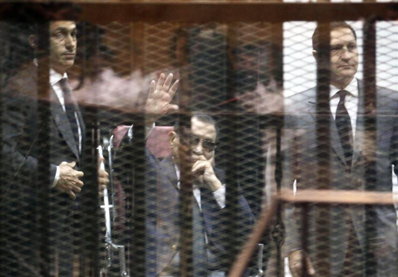 Zoons van Mubarak vrijgelaten