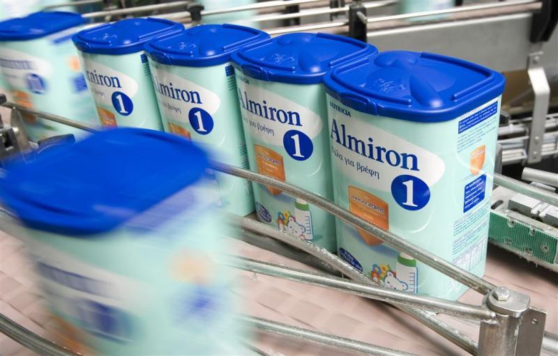 Nutricia voert productie babymelk op