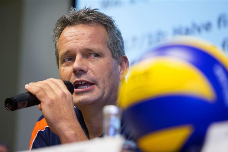 Volleyballers uitgeschakeld op EK