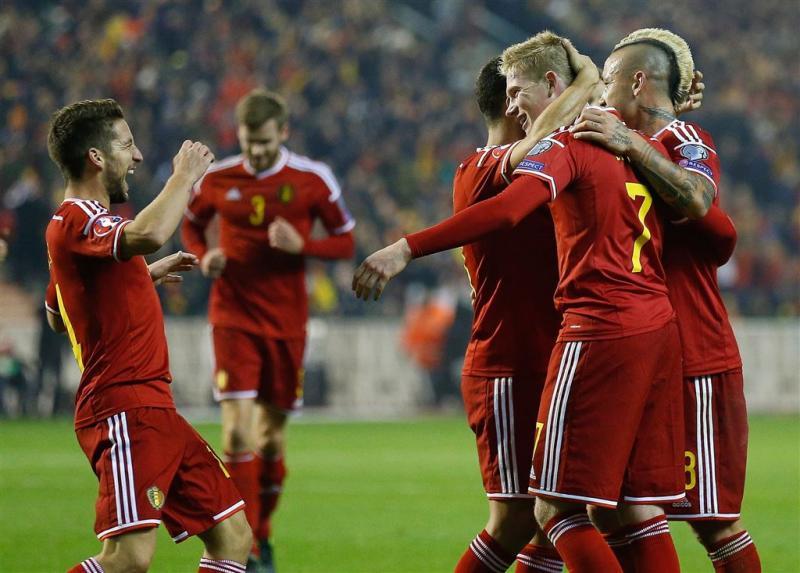 België stijgt naar top FIFA-ranglijst