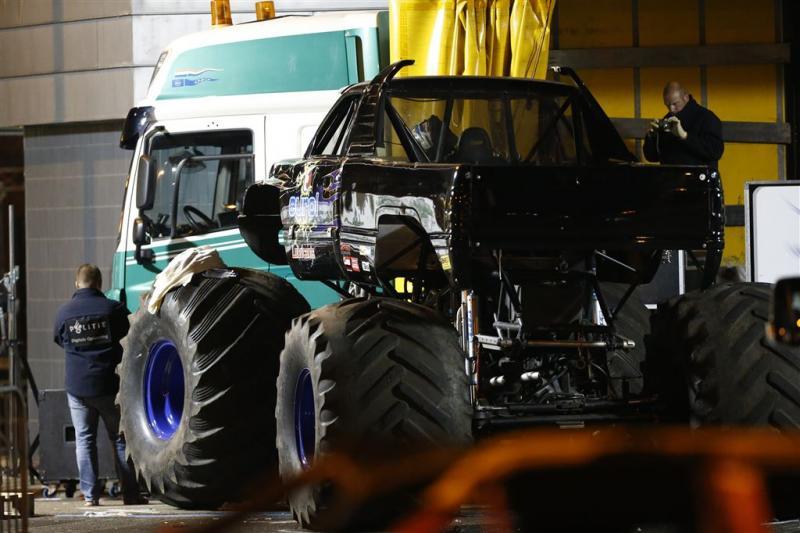 'Chauffeur monstertruck reed te hard'