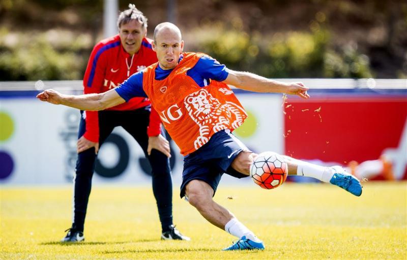 Robben vreest dat het klaar is voor Oranje