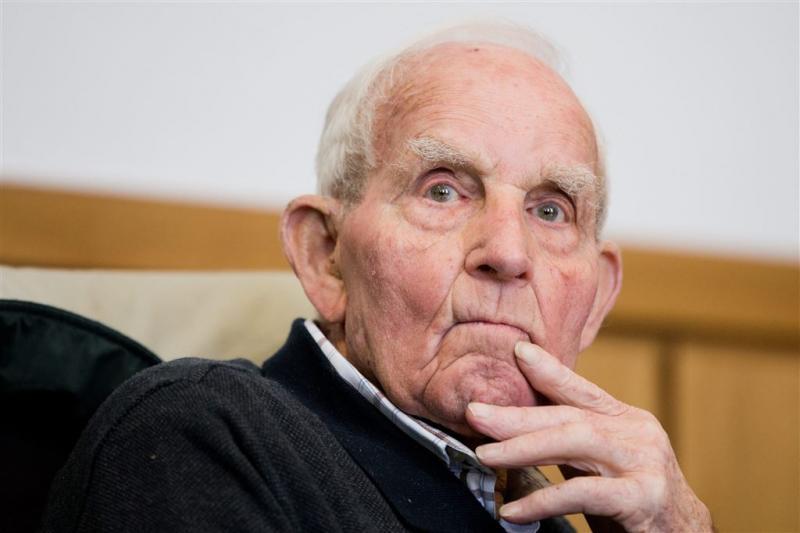 Oud-SS'er Siert Bruins (94) dood en begraven