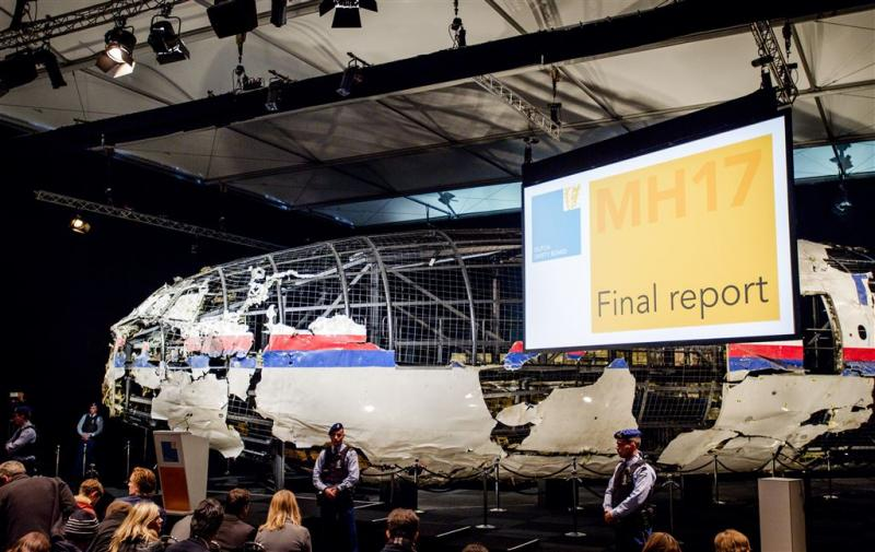 Reconstructie toont flarden MH17-toestel