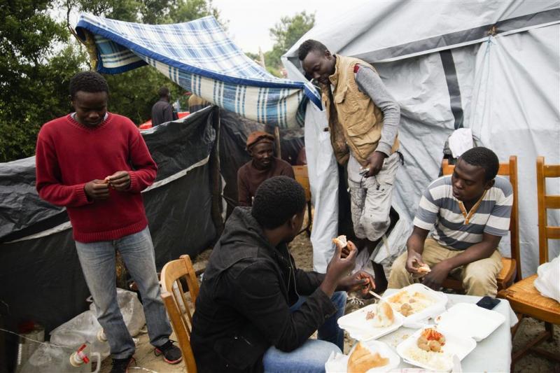 Vluchtelingenkamp Calais verdubbeld