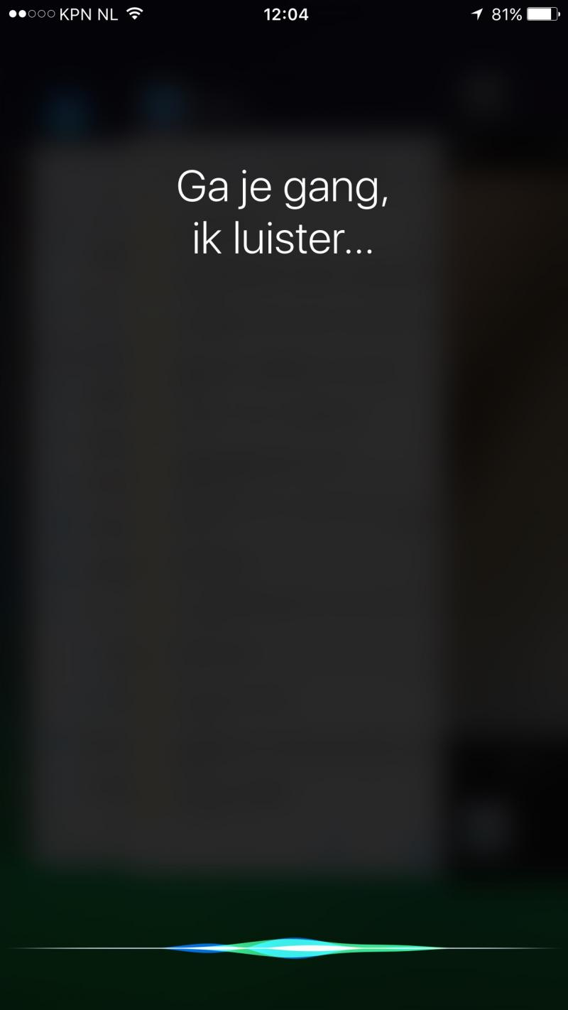 iPhone 6s Siri