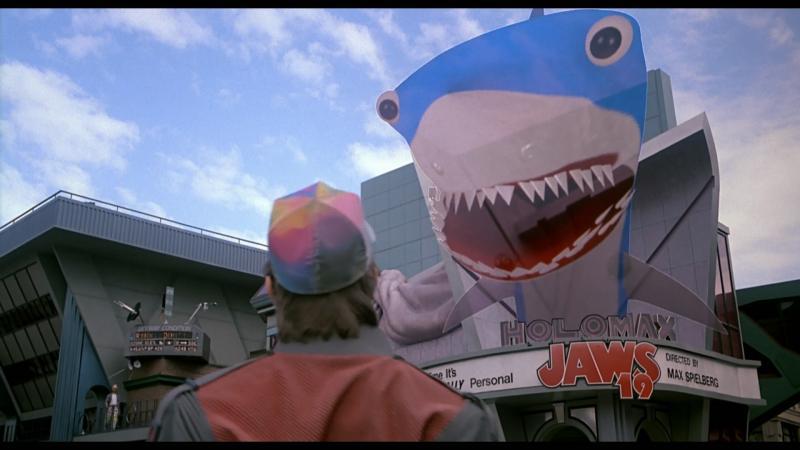 Een echt haaihologram zit er nog niet in