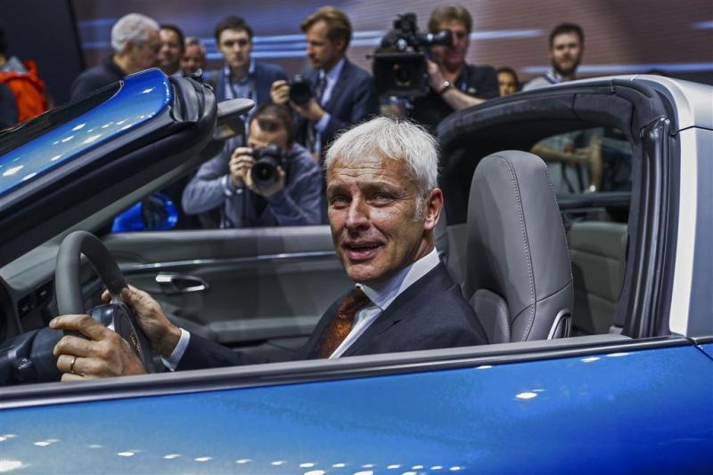 VW: dieselschandaal kost mogelijk meer