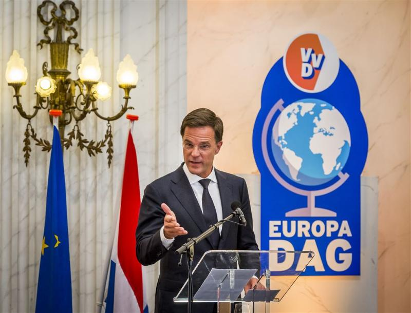 Rutte waarschuwt voor einde samenwerking EU