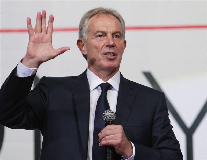 Blair erkent 'fouten' rond oorlog in Irak