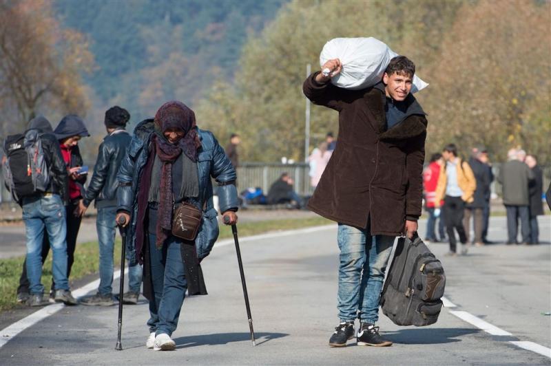 5000 migranten bij Duits-Oostenrijkse grens