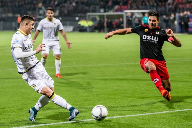Vitesse efficiënt tegen Excelsior (Pro Shots/Ronald Bonestroo)